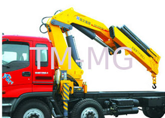 Effective 14 Ton Transportation XCMG Hydraulic Knuckle Boom Truck Mounted Crane