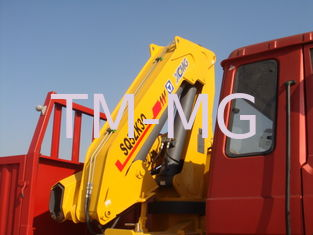 Effective 5T Knuckle Boom Truck Mounted Crane Lifting For Landscape Jobs